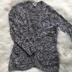 Chunky Marled Sweater Cardigan Old Navy